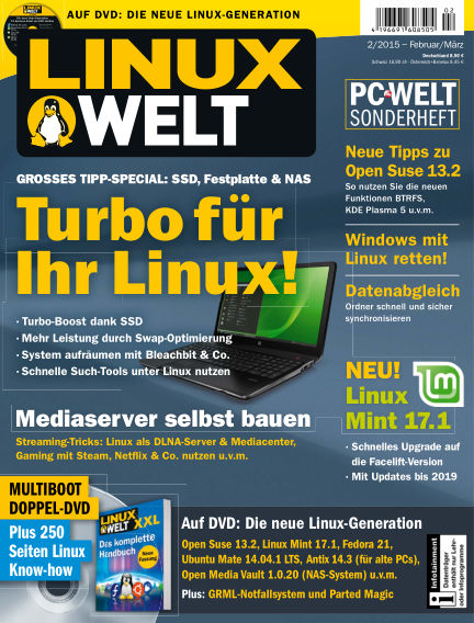 LinuxWelt January 30, 2015 00:00