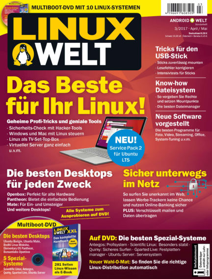 LinuxWelt March 31, 2017 00:00