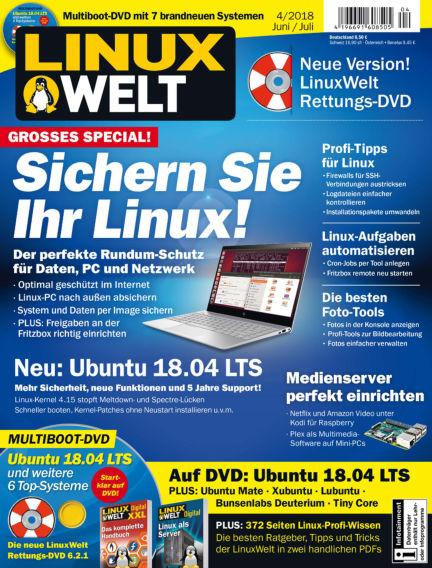 LinuxWelt May 25, 2018 00:00