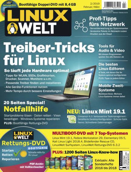 LinuxWelt January 25, 2019 00:00