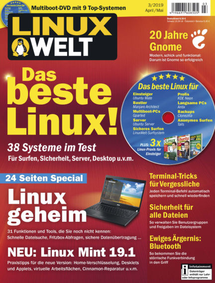 LinuxWelt March 29, 2019 00:00