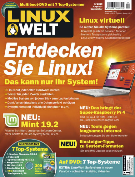 LinuxWelt July 26, 2019 00:00