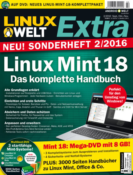 LinuxWelt Sonderheft August 26, 2016 00:00