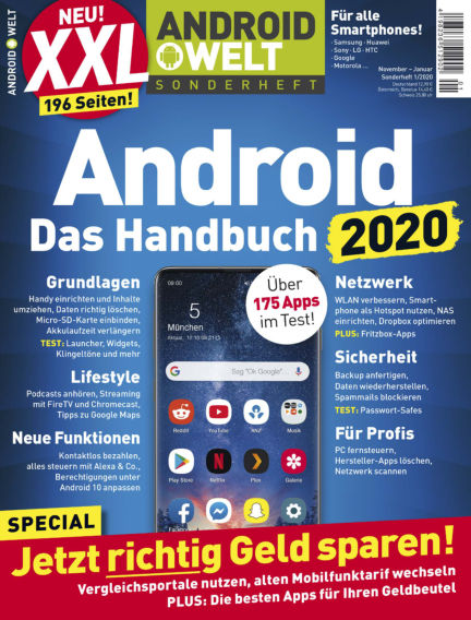 Android Welt Sonderheft November 08, 2019 00:00