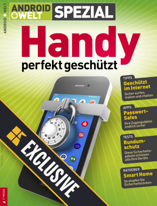 Androidwelt Readly Exclusive Sicherheit