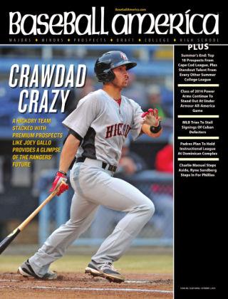 Baseball America September 17, 2013