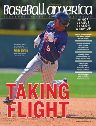Baseball America October 1, 2013