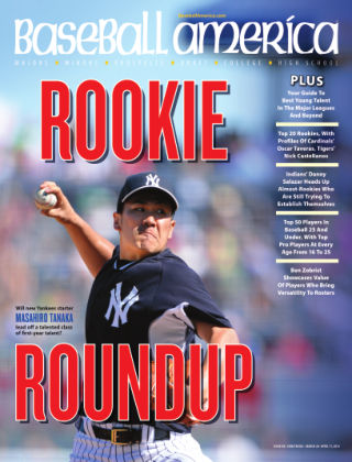 Baseball America April 1,  2014