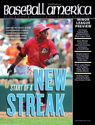 Baseball America April 15, 2014