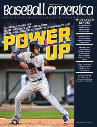 Baseball America July 22, 2014
