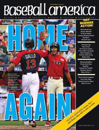 Baseball America August 5, 2014