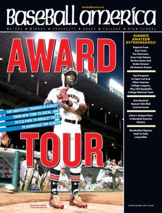 Baseball America September 16, 2014