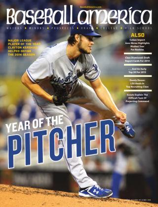 Baseball America October 28, 2014