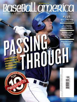 Baseball America January 27, 2015