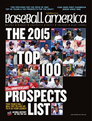Baseball America February 27, 2015