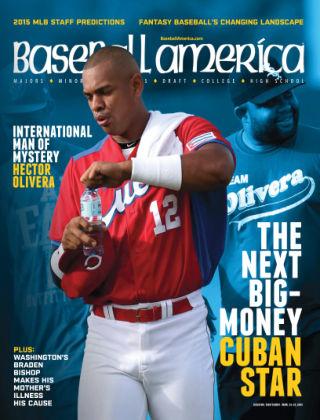 Baseball America March 13, 2015