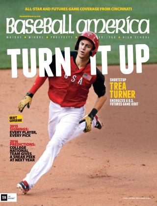 Baseball America July 31, 2015