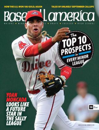 Baseball America October 9, 2015