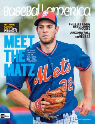 Baseball America Nov 6 2015