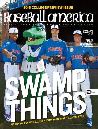 Baseball America Feb 12 2016