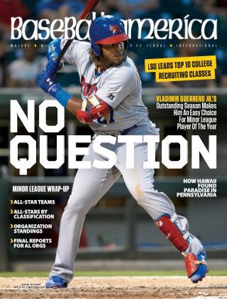 Baseball America Sep 21 2018
