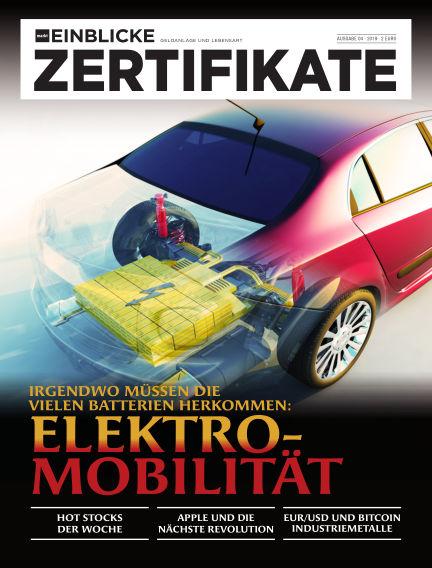 marktEINBLICKE Zertifikate February 20, 2019 00:00