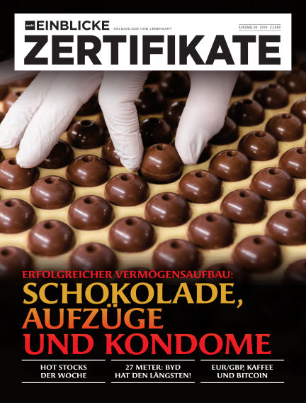 marktEINBLICKE Zertifikate April 18, 2019 00:00