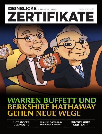 marktEINBLICKE Zertifikate