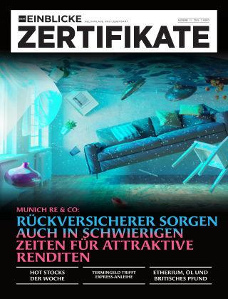 marktEINBLICKE Zertifikate 2019-11