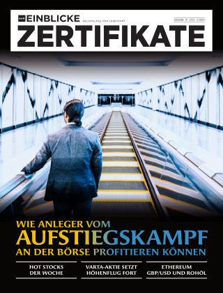 marktEINBLICKE Zertifikate 2019-18