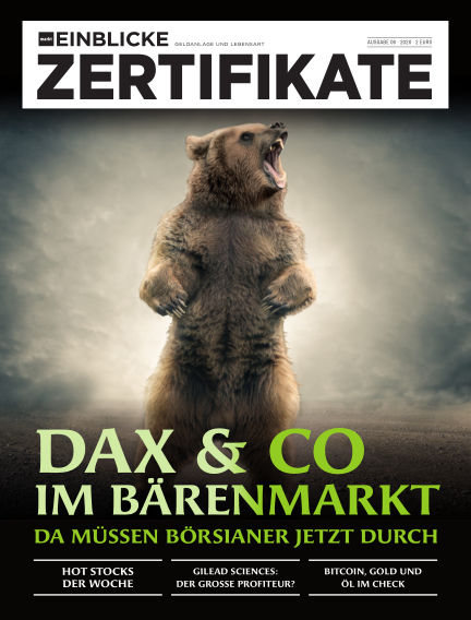 marktEINBLICKE Zertifikate March 18, 2020 00:00