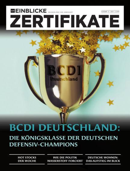 marktEINBLICKE Zertifikate June 10, 2020 00:00