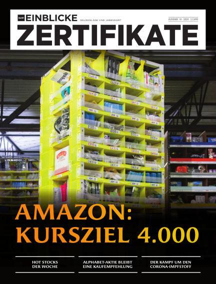 marktEINBLICKE Zertifikate August 05, 2020 00:00
