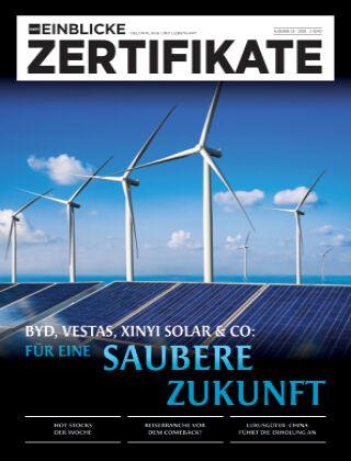 marktEINBLICKE Zertifikate 2020-25