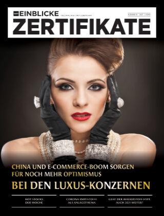 marktEINBLICKE Zertifikate 2021-01