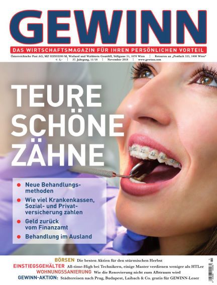 GEWINN October 31, 2018 00:00