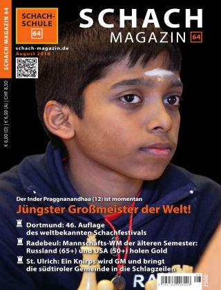 Schach-Magazin 64 08/2018