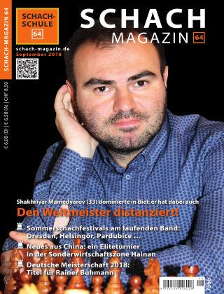 Schach-Magazin 64 09/2018