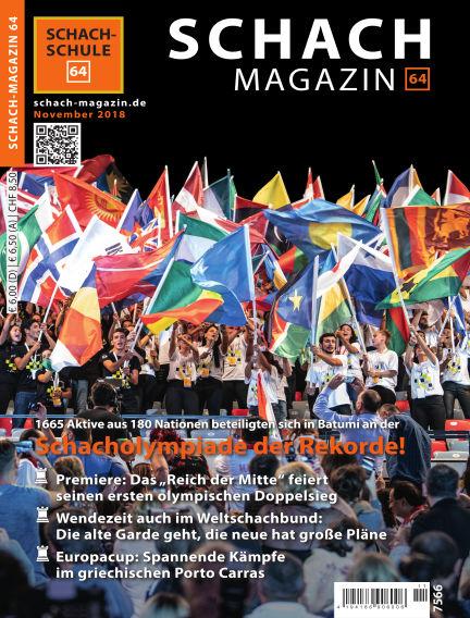 Schach-Magazin 64 October 31, 2018 00:00