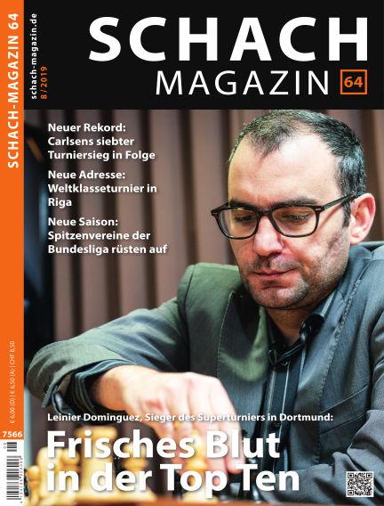 Schach-Magazin 64 August 07, 2019 00:00