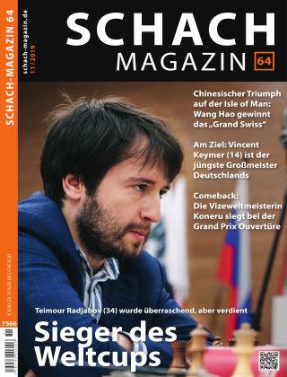 Schach-Magazin 64 11/2019