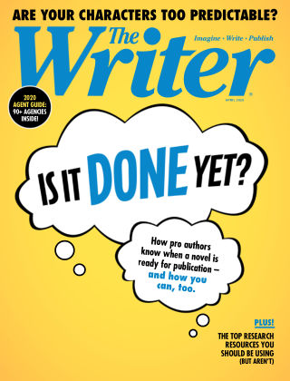 The Writer Apr 2020