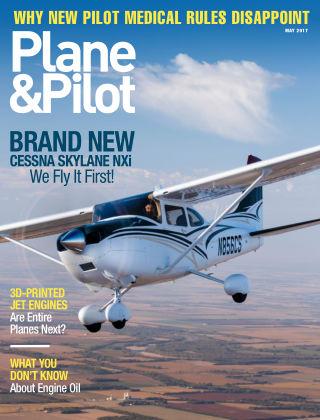 Plane & Pilot May 2017