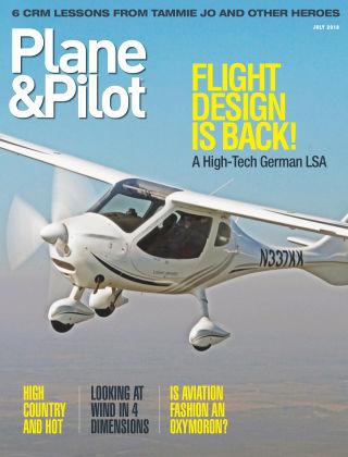 Plane & Pilot Jul 2018