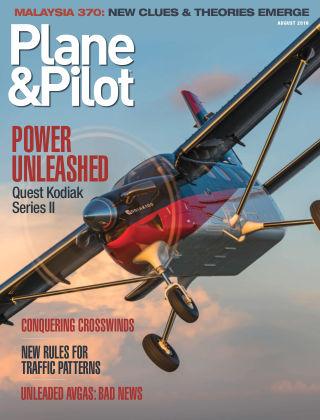 Plane & Pilot Aug 2018