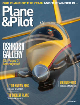 Plane & Pilot Oct 2018
