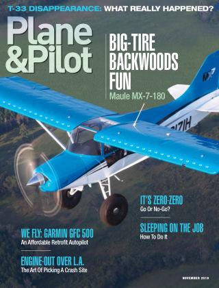 Plane & Pilot Nov 2018