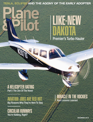 Plane & Pilot Dec 2018
