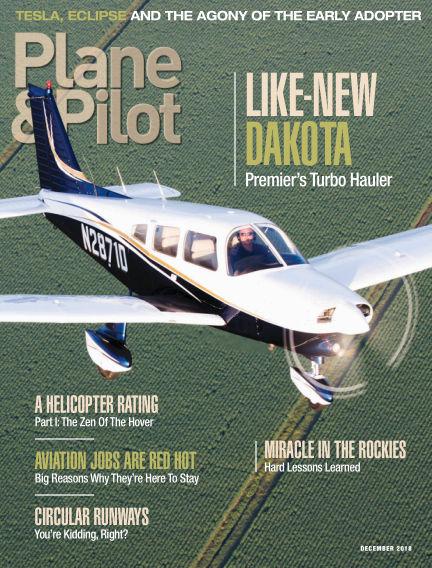 Plane & Pilot November 02, 2018 00:00