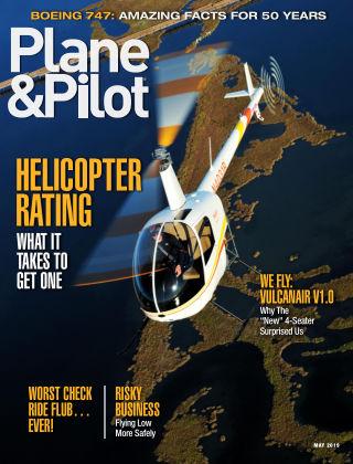 Plane & Pilot May 2019
